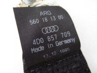 Audi A8 (4D, D2) Sicherheitsgurte Gurt + Gurtschloss Set hinten 03/94-12/98