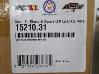 Jeep Wrangler YJ TJ JK JL LED Zusatz Scheinwerfer + X Clamp Halter Set 15210.31