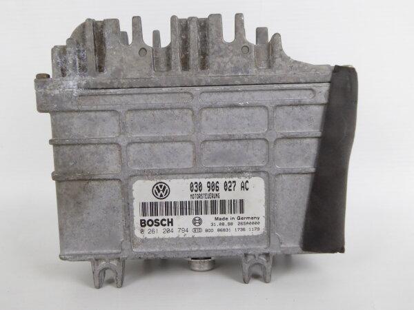 VW Polo 6N 6N1 1.4 AKV Motorsteuergerät Steuergerät 030906027AC 0261204794